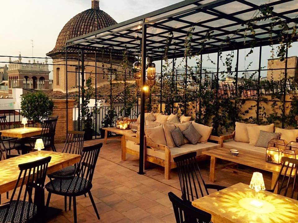 the best rooftop bars in valencia. Black Bedroom Furniture Sets. Home Design Ideas