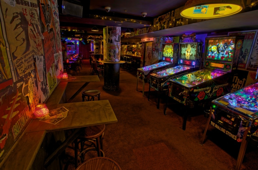 Pinball machines at Frankie's | © Courtesy of Frankie's