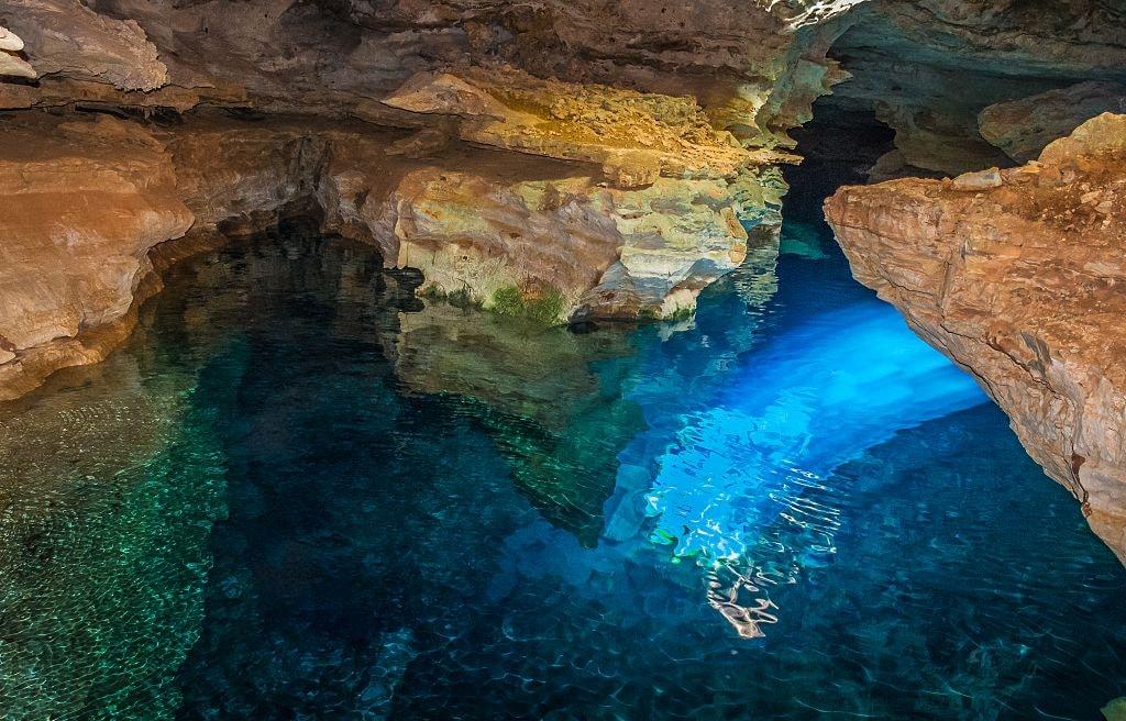 Poço Azul   © MAURICIO GOMES DE OLIVEIRA/WikiCommons