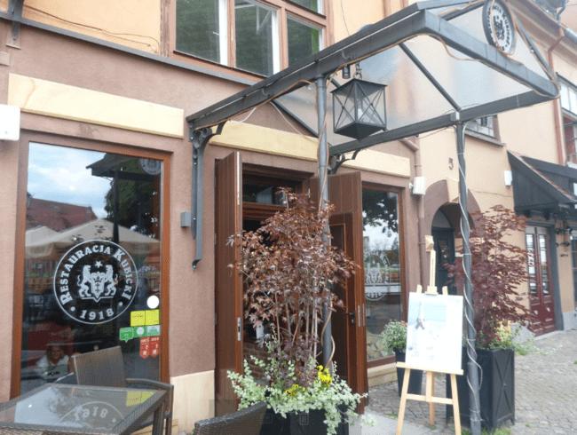 Restauracja Kubicki Gdansk 1918