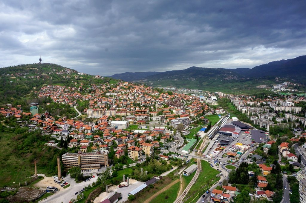 View from Avaz Tower   © Sam Bedford