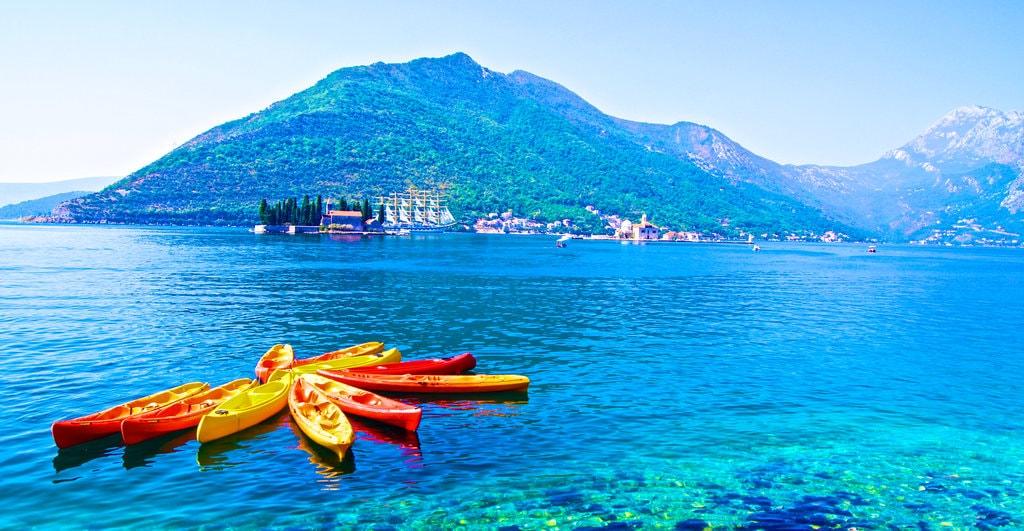 Kayaking in Montenegro | © Cristian/Pexels