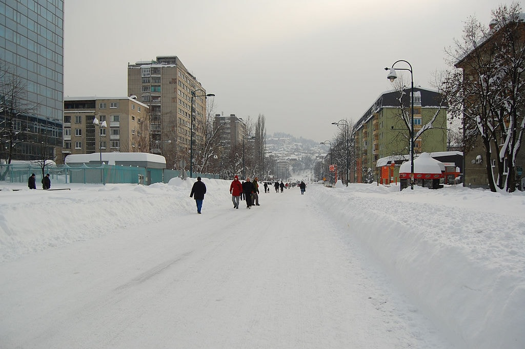 Sarajevo Winter | © Milan Suvajac/WikoCommons