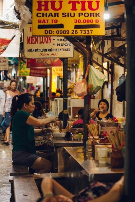 SCTP0014-POCOCK-VIETNAM-HANOI-STREETS-59-25-Ngõ Chợ Đồng Xuân