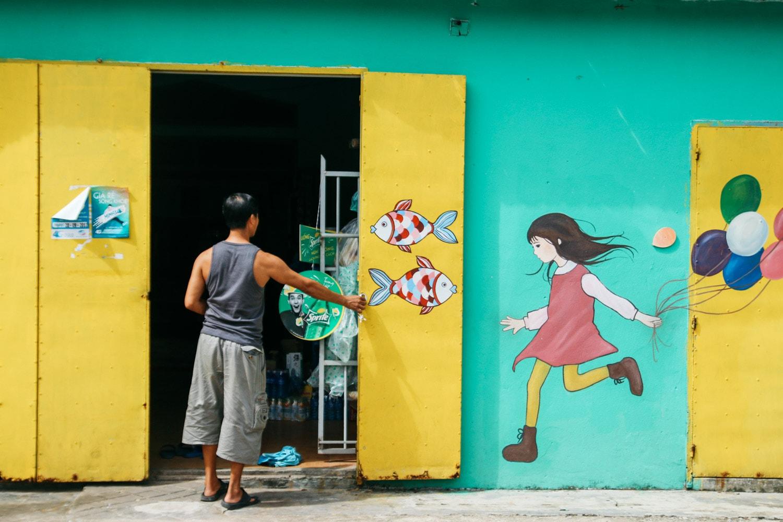 Discover Vietnam\'s Hidden Mural Village