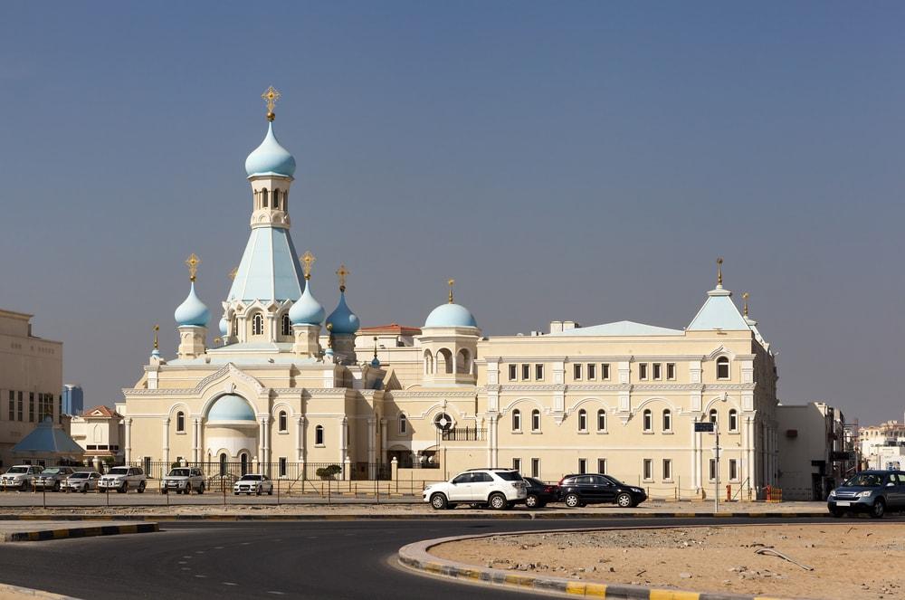 Russian Church of the Apostle Philip. Sharjah. United Arab Emirates | © Sergei Afanasev/Shutterstock