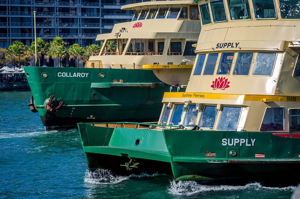 Sydney Ferries | © Hpeterswald/Wikimedia Commons