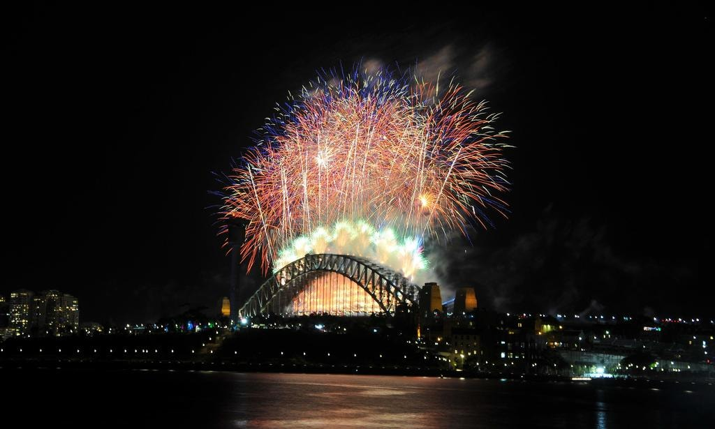 Sydney New Year's Eve Fireworks from Pirrama Wharf | © Belinda Rolland/Courtesy of Event Project