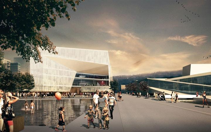 The New Deichman Main Library | Courtesy of Atelier Oslo