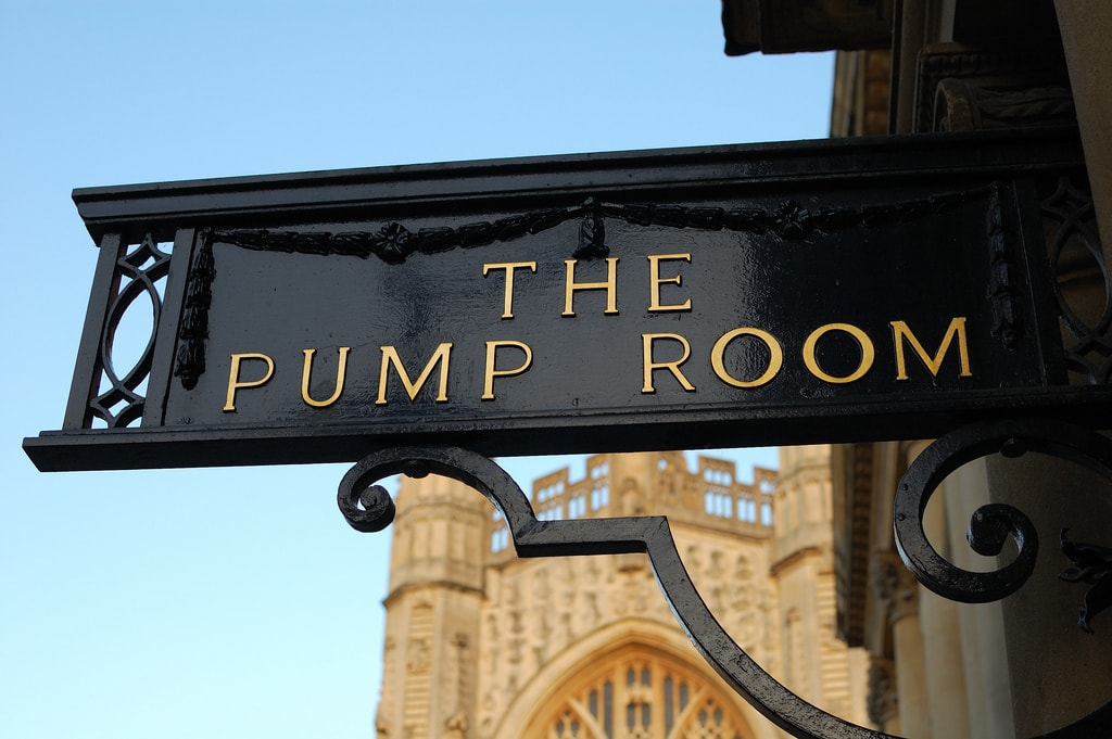 The Pump Room, Bath | © Andrew Sales/Flickr