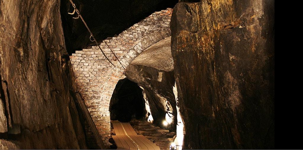 The SIlver Mines in Kongsberg   Courtesy of Norsk Bergverksmuseum