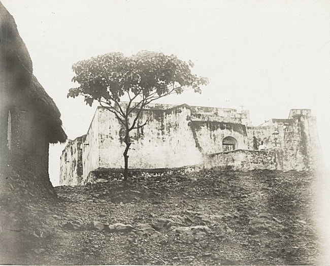 Photograph of Fort Patience from the 1890's