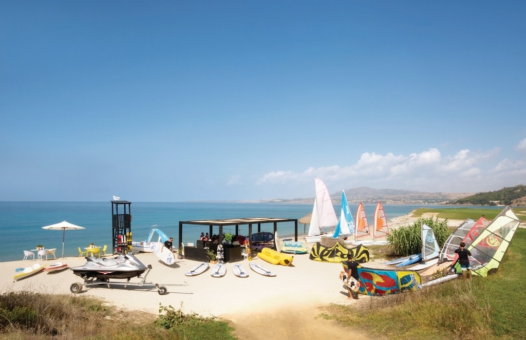 The retreat at Verdura Spa in Sicily also includes a water sports club | © Courtesy of Verdura Spa