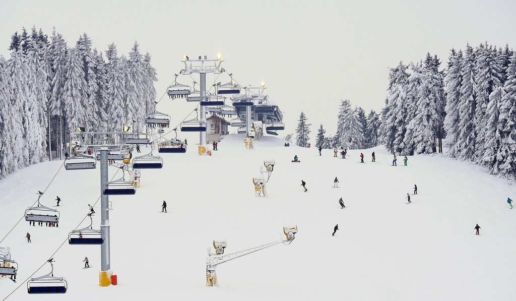 Winterberg ski lift