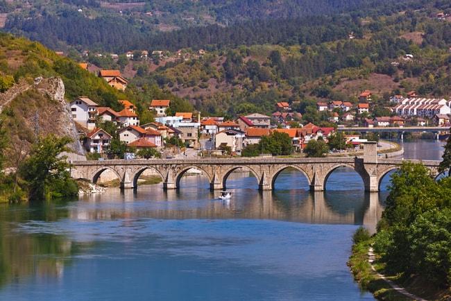 Old Bridge on Drina river in Visegrad | © Tatiana Popova/Shutterstock