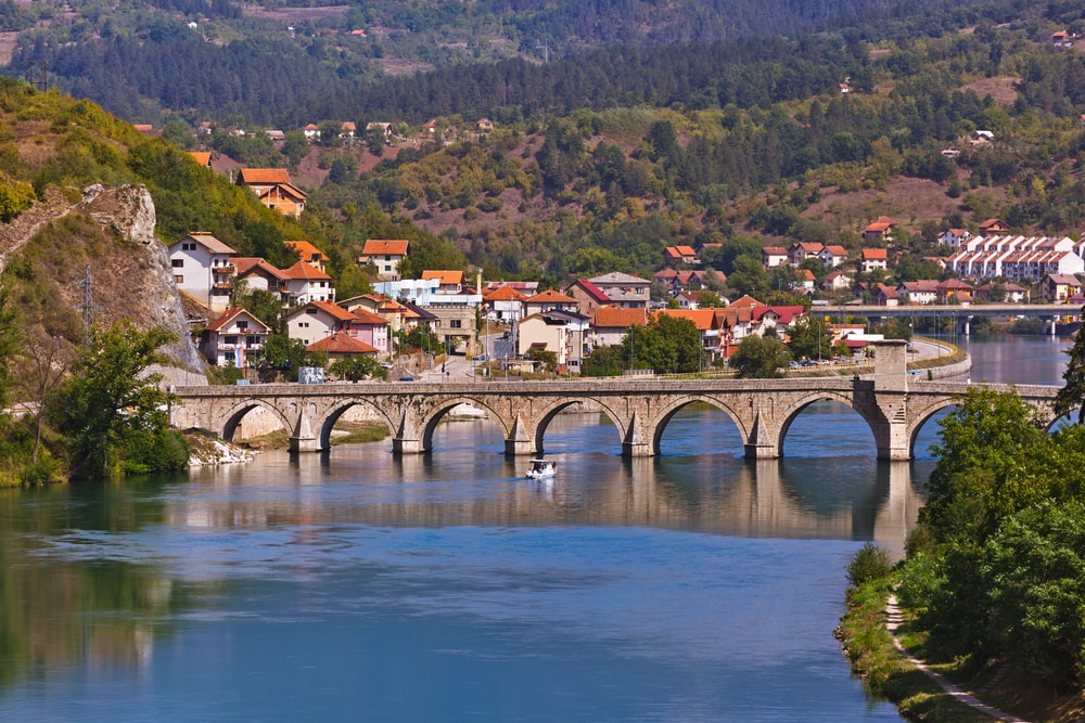 Old Bridge on Drina river in Visegrad | © Tatiana Popova/Shutterstock