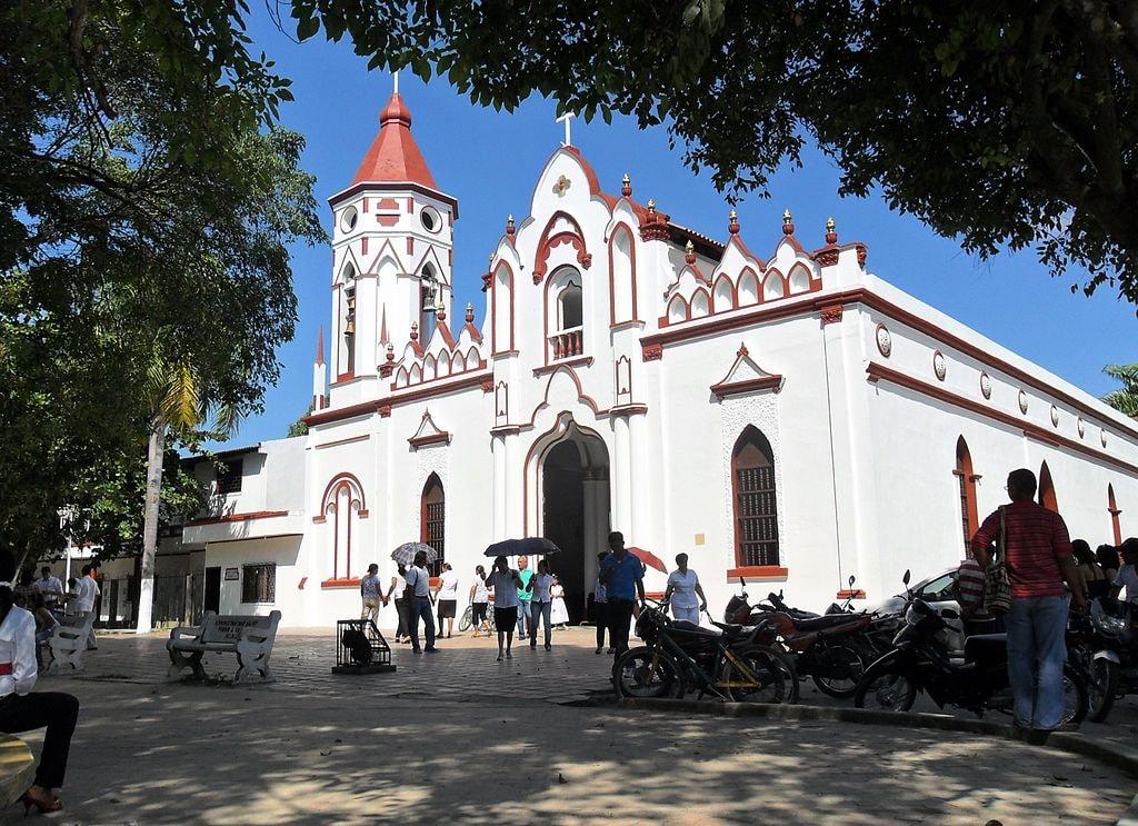 Church in Aracataca where Garcia Marquez was baptised | © Tim Buendía/WikiCommons