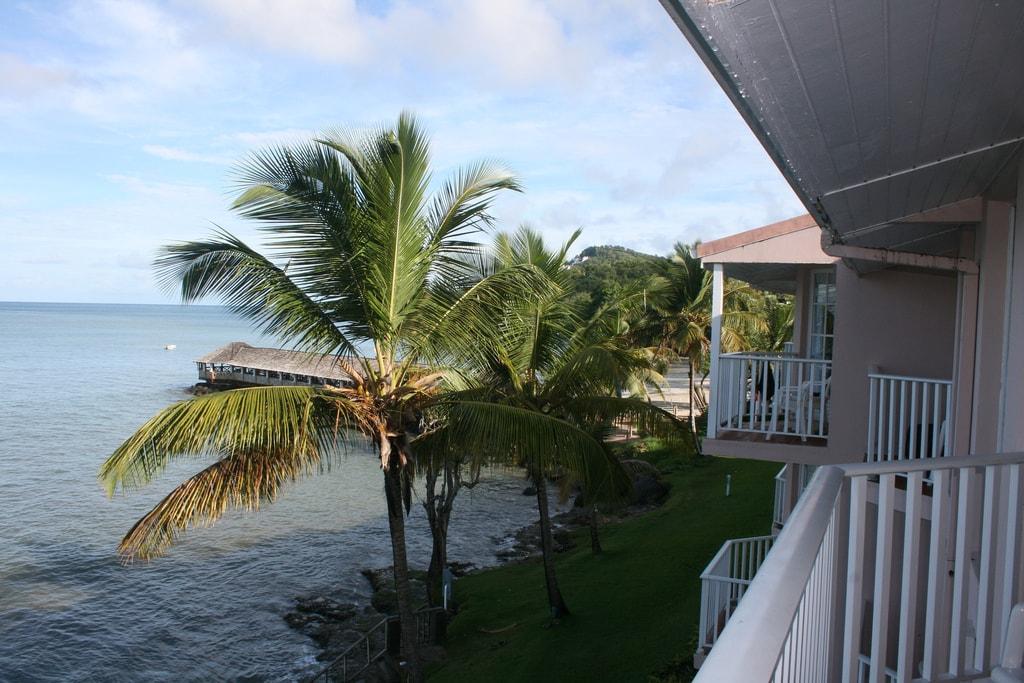 Uninterrupted sea views
