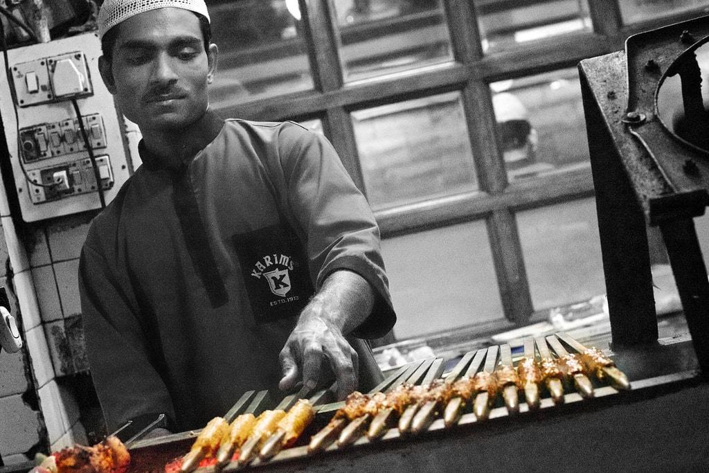 Kebab at Karim's