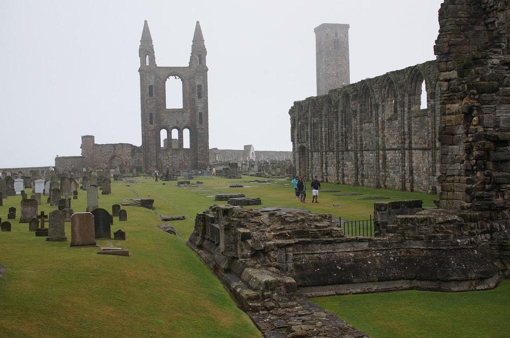 Cathedral of St. Andrews, Scotland | © Steffen Zahn / Flickr