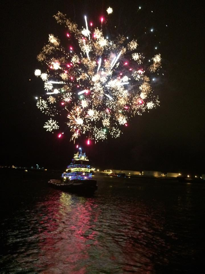 Fireworks at Christmas? In Maine | Courtesy of Sail Maine