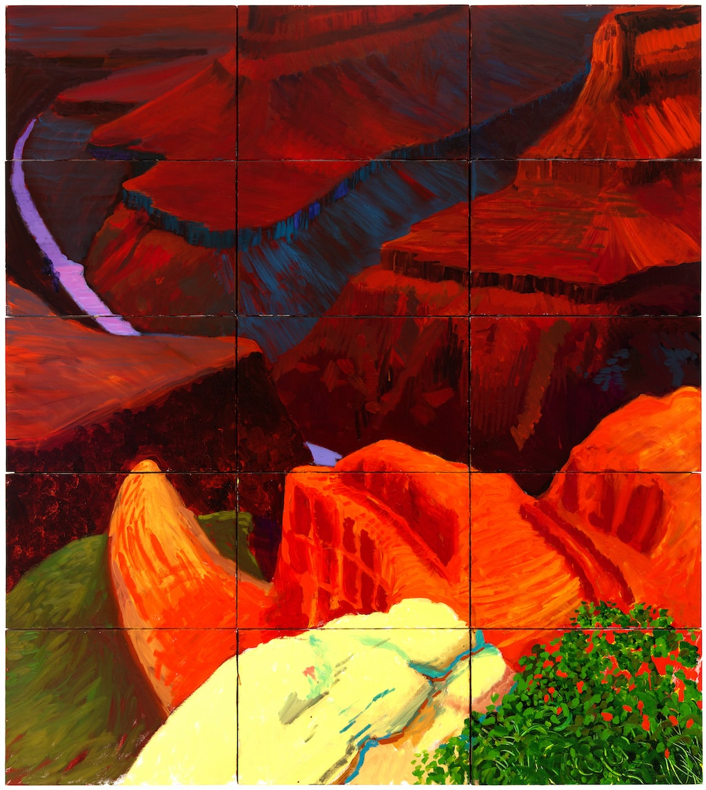 David Hockney, 'Colorado River', 1998 | © David Hockney / Tom van Eynde