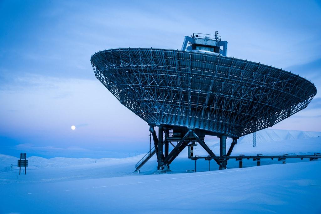 EISCATSvalbard Radar   © Christer van der Meeren / Flickr