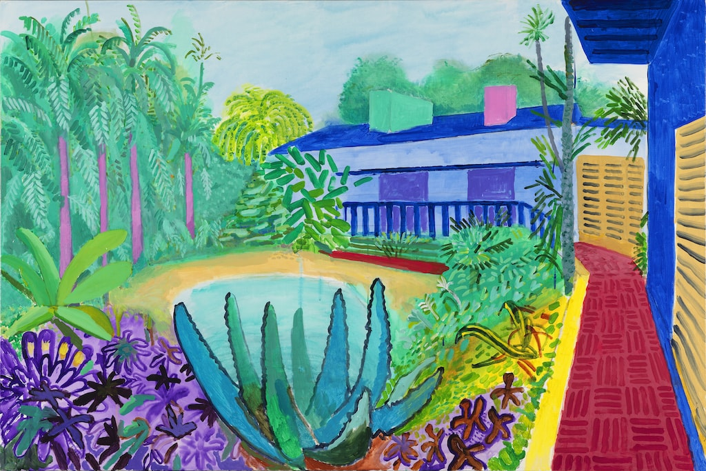 David Hockney, 'Garden', 2015 | © David Hockney / Richard Schmidt