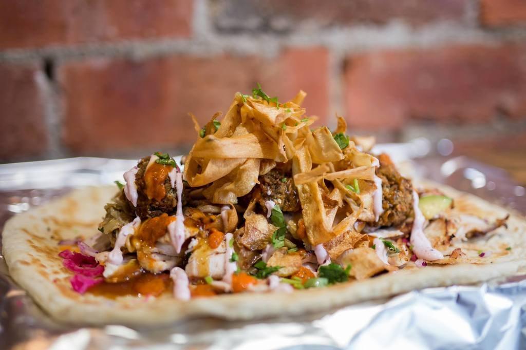 I am Döner's Christmas dinner kebab