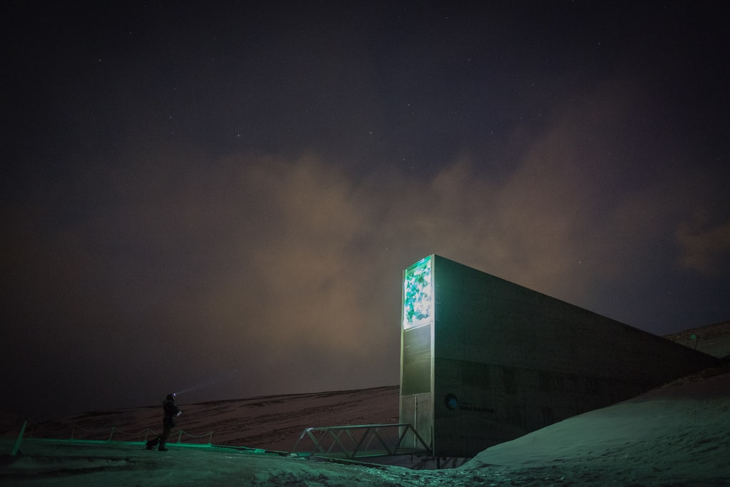 Svalbard Global Seed Vault   © Frode Ramone / Flickr
