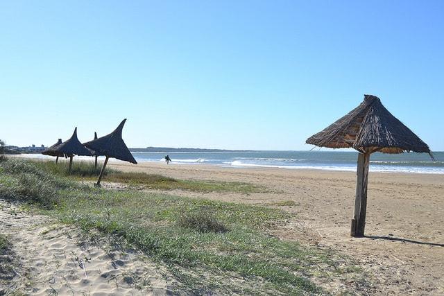 A beach in Uruguay