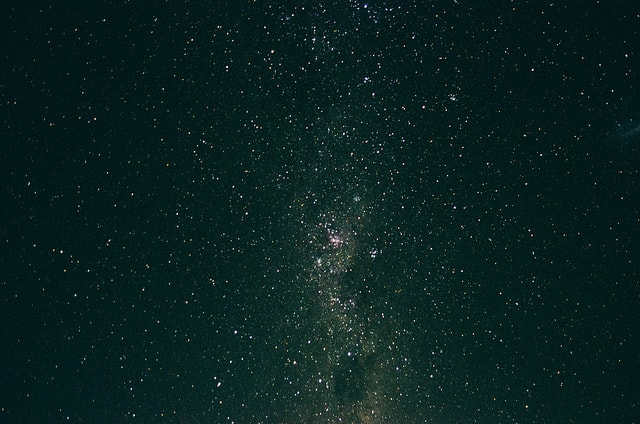 A view of the Milky Way in the night's sky of Uruguay