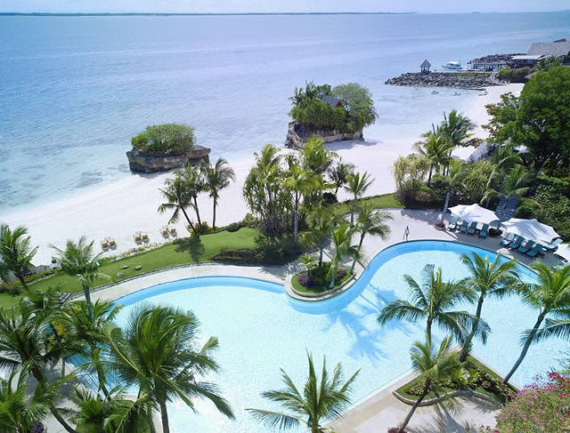 Outdoor Wing Pool And Beach Courtesy Of Shangri La S Mactan Resort Spa