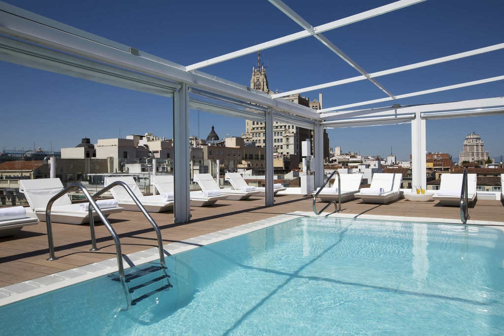 The Best Hotels in Madrid with Rooftop Pools