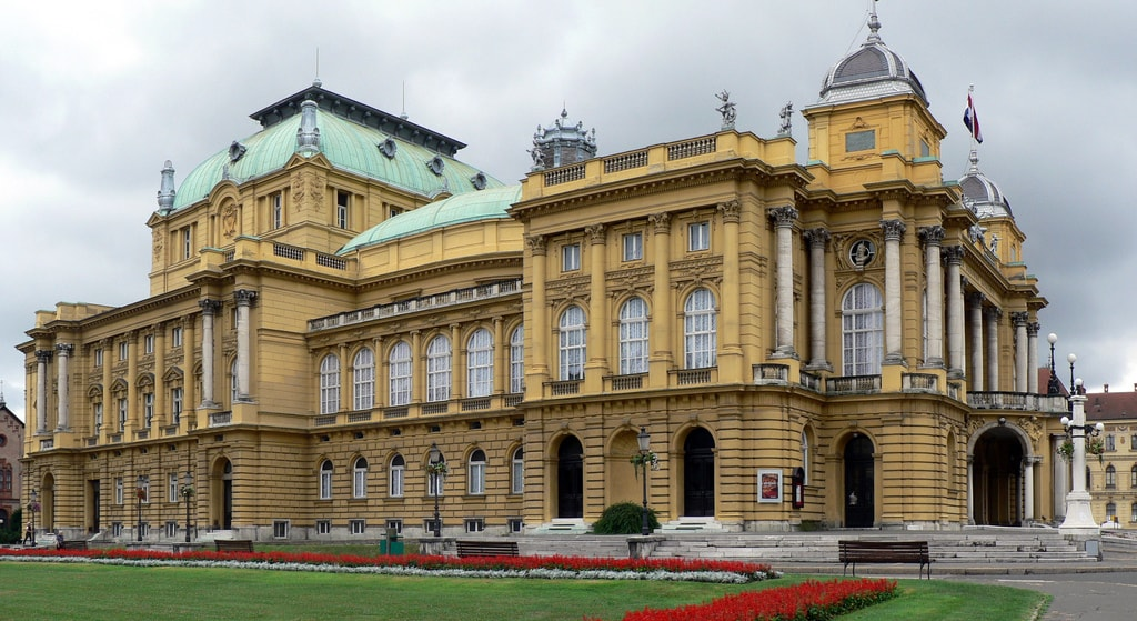 Croatian National Theatre | © Alistair Young/Flickr