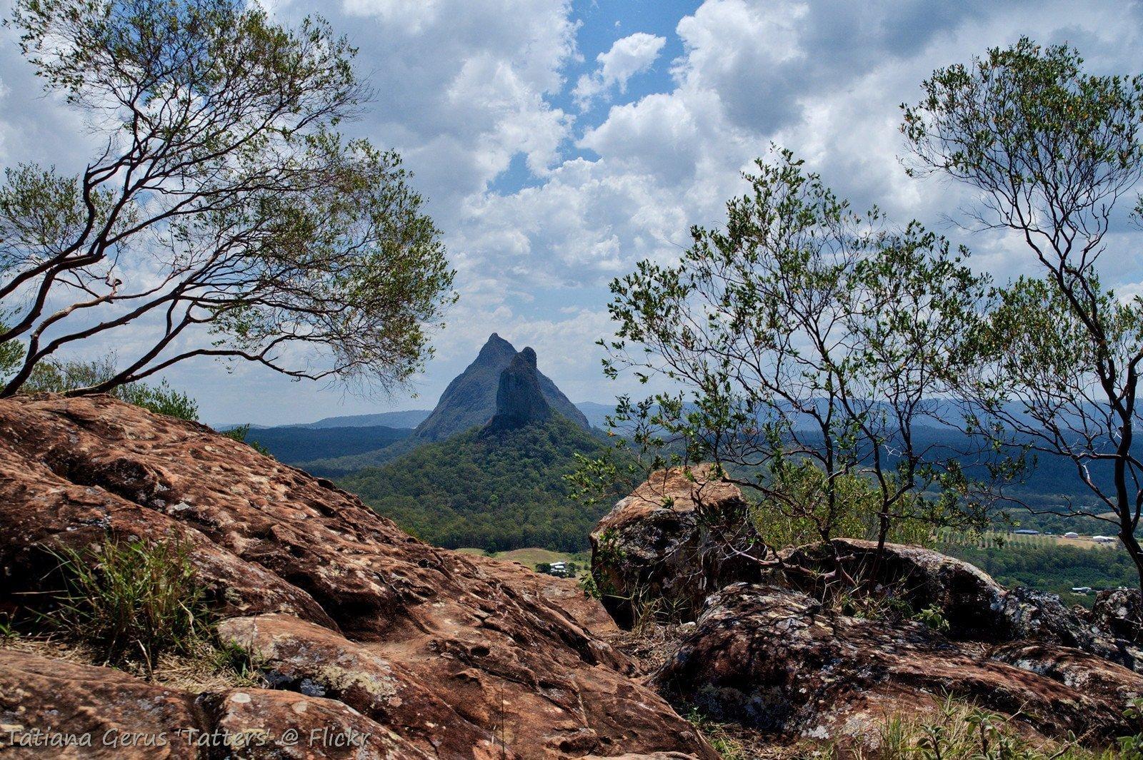 Mount Ngungun © Flickr / Tatters