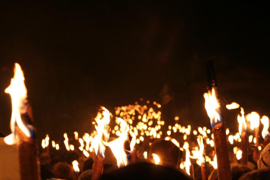 Torchlight Procession | © Gary Denham / Flickr