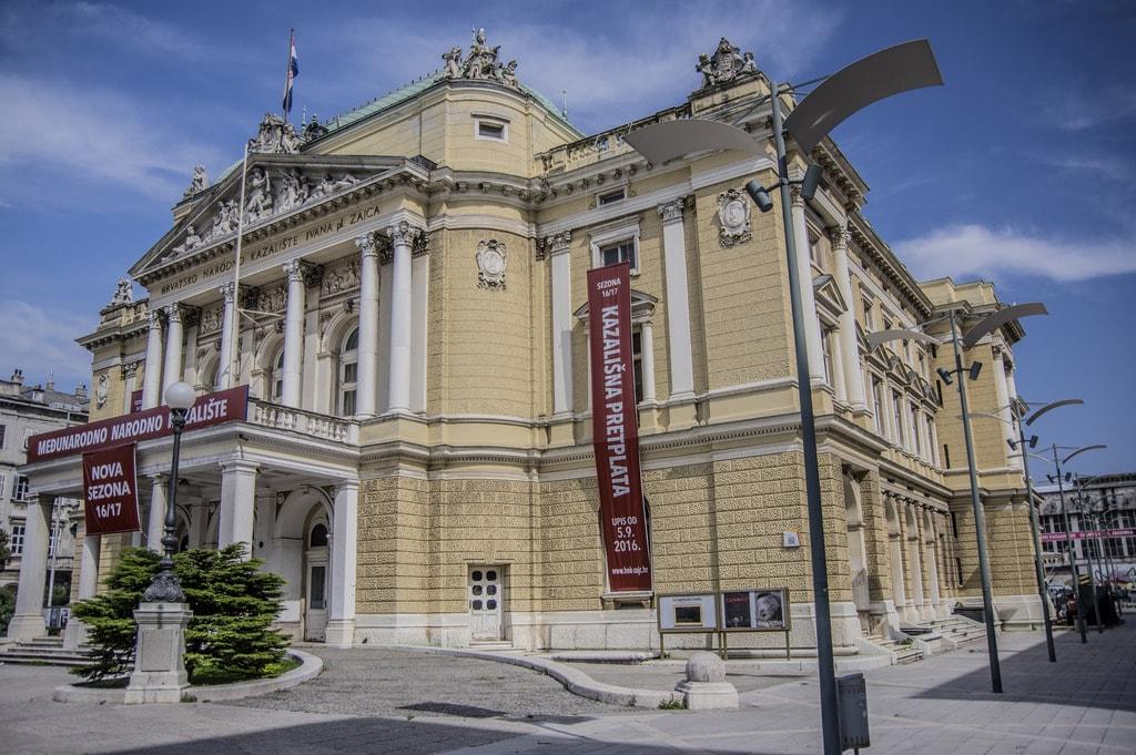 Croatian National Theatre, Rijeka | © stefano Merli/Flickr