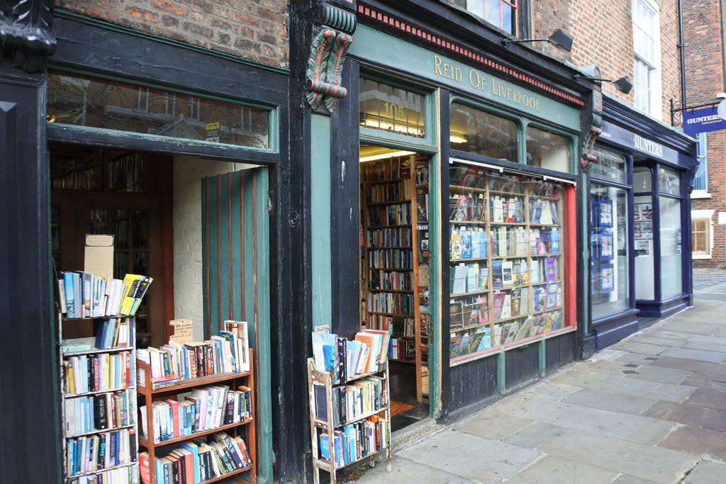 Reid of Liverpool book shop