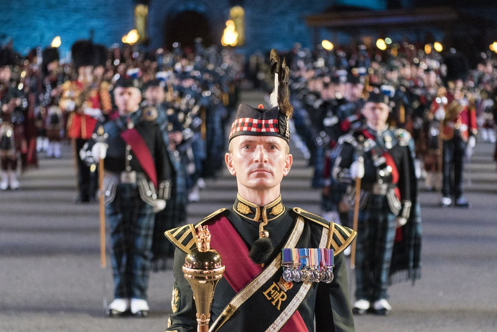 CJCS attends the Royal Edinburgh Military Tattoo | © Chairman of the Joint Chiefs of Staff / Flickr