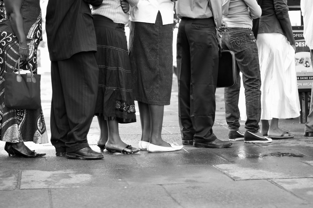 Expert queuers | © Xiaojun Deng/Flickr