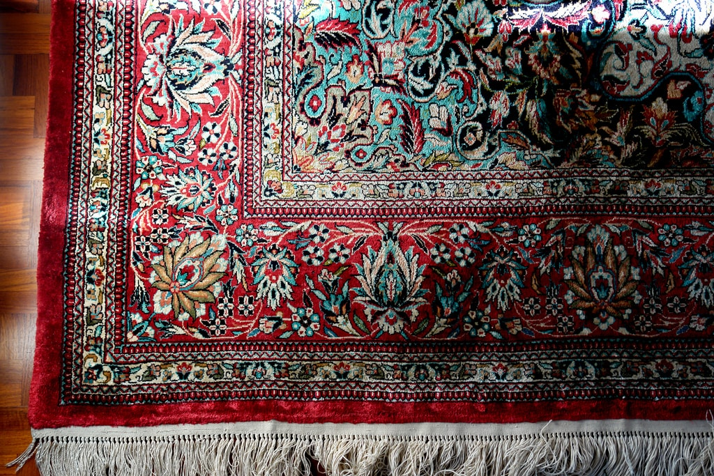 Persian carpets are typically silk or wool | © cogito ergo imago / Flickr