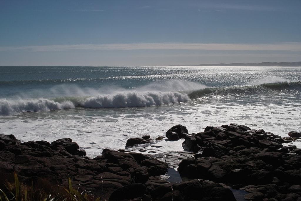 New Zealand South Island Longest Sand Bar