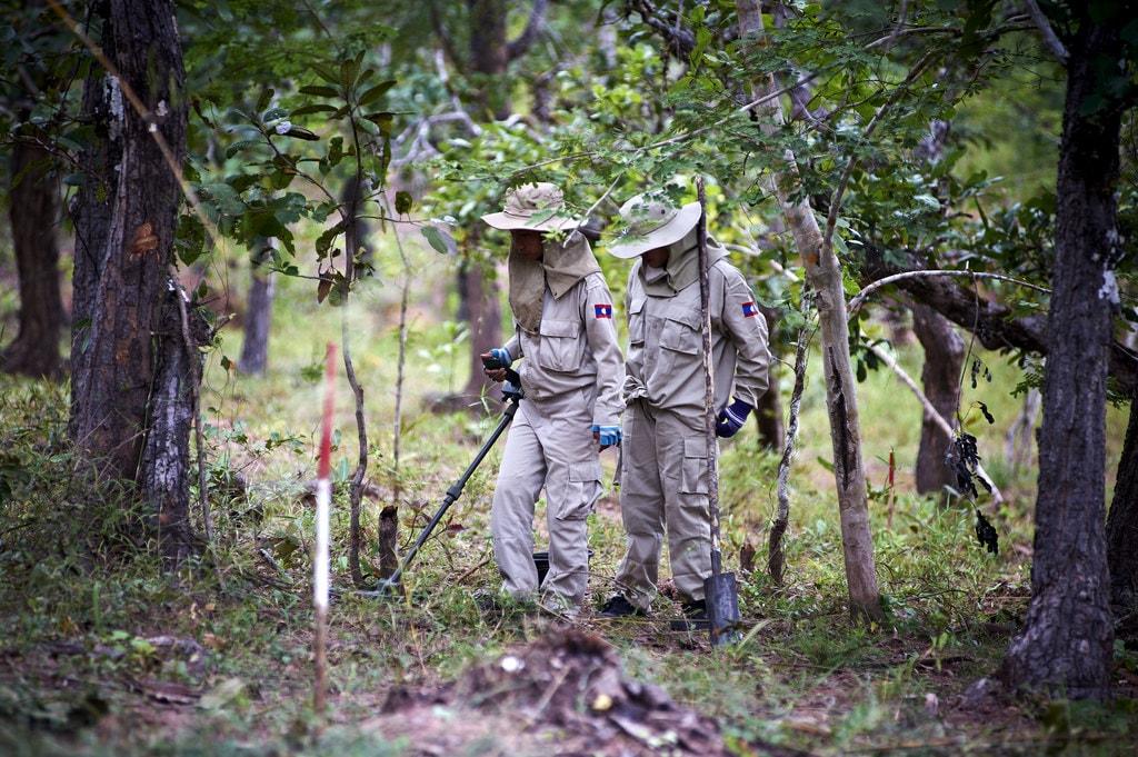 Field Visit | © Lao PDR Cluster Munition Coalition (CMC) Media Trip/Flickr