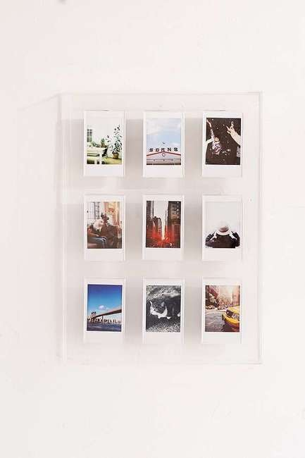 Instax Acrylic Multi Picture Frame | Courtesy of Urban Outfitters