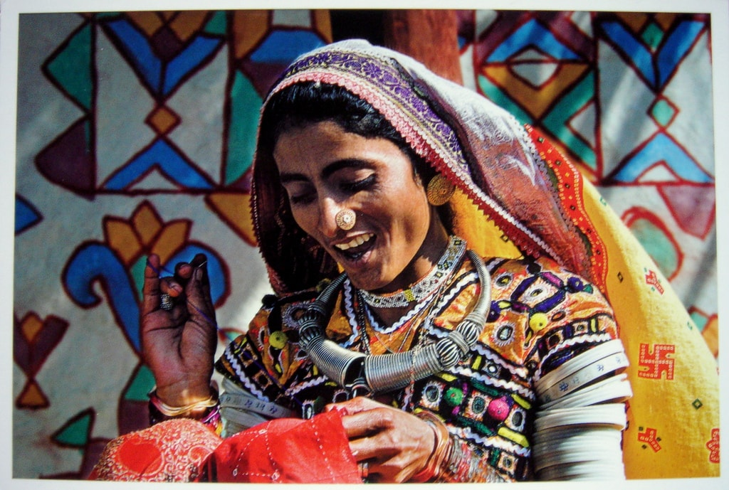 A village woman in Kutch