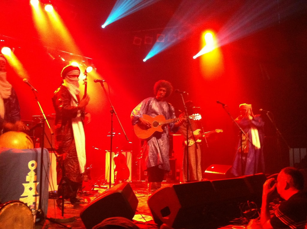 Tinariwen, Tvornica | © David Bailey/Flickr