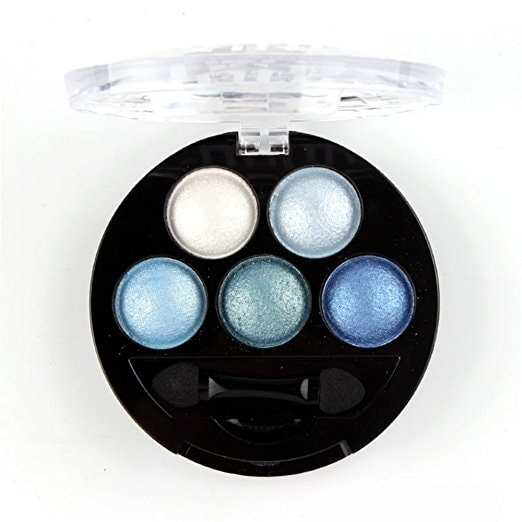 Mallofusa Portable 5 Colors Eye Shadow Palette | Courtesy of Amazon