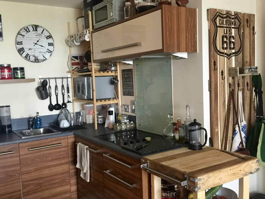 Kitchen at city centre flat