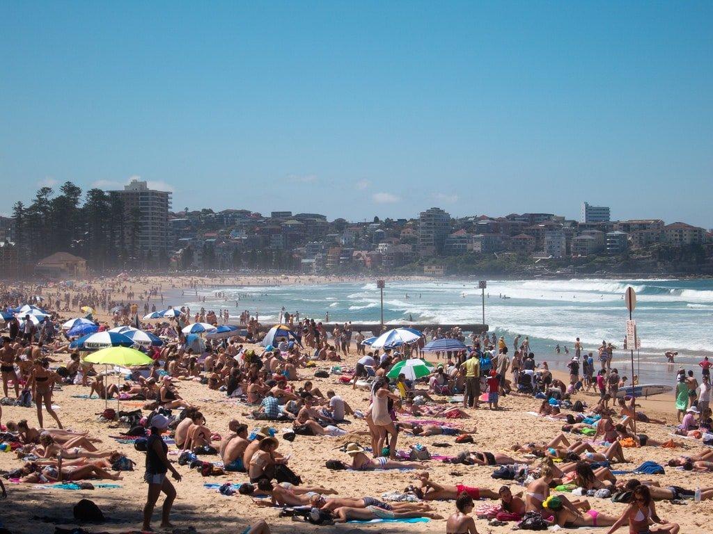 Australian beach © Flickr / Geoff Stearns